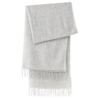MUJI (無印良品) - 新品   無印良品  カシミヤ織りストール