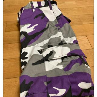 ロスコ(ROTHCO)のロスコ カーゴパンツ 迷彩 紫(ワークパンツ/カーゴパンツ)