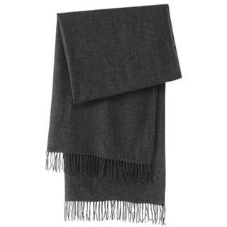 新品   無印良品  カシミヤ織りストール