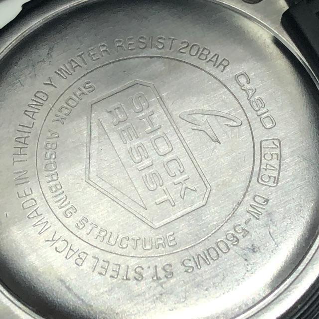 G-SHOCK(ジーショック)のCASIO G-SHOCK DW 腕時計 黒 レッドアイ メンズの時計(腕時計(デジタル))の商品写真