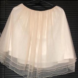 イーハイフンワールドギャラリーボンボン(E hyphen world gallery BonBon)のイーハイフンボンボン チュールスカート(ひざ丈スカート)