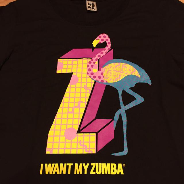 Zumba(ズンバ)のzumba トップス S スポーツ/アウトドアのスポーツ/アウトドア その他(ダンス/バレエ)の商品写真