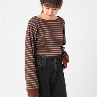カスタネ(Kastane)のボーダーtシャツ カットソー(Tシャツ(半袖/袖なし))