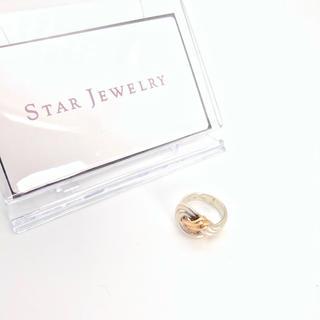 スタージュエリー(STAR JEWELRY)のSV925 K18 スタージュエリー リング 正規品(リング(指輪))
