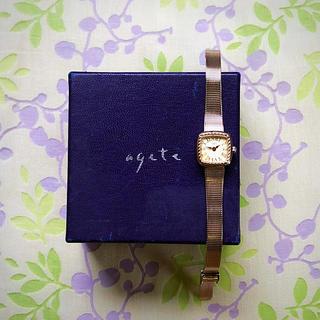 アガット(agete)のめり  様  😊  agete ㉕   腕時計・稼動品✨(腕時計)