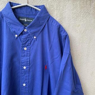 Ralph Lauren - ラルフローレン シャツ Ralph Lauren 90s オーバーサイズ 刺繍