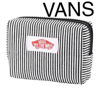 ヴァンズ(VANS)のVANS特製  ヒッコリーWジップポーチ mini付録(ポーチ)