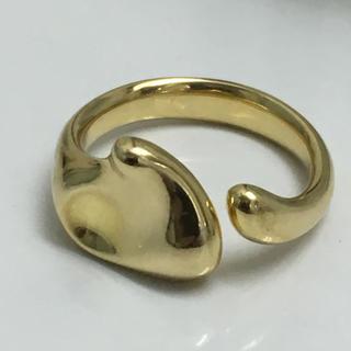 ティファニー(Tiffany & Co.)のティファニー ハートK18 リング(リング(指輪))