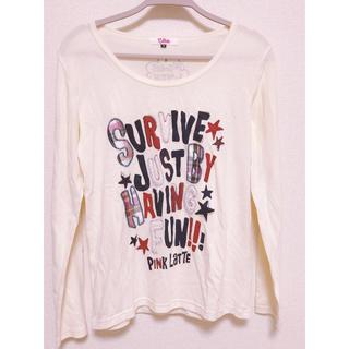 ピンクラテ(PINK-latte)のPINK-latte 長(ロング)Tシャツ(Tシャツ(長袖/七分))