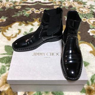 ジミーチュウ(JIMMY CHOO)の定価税込¥145200 Jimmy Choo スタッズブーツ ルブタン チャーチ(ドレス/ビジネス)
