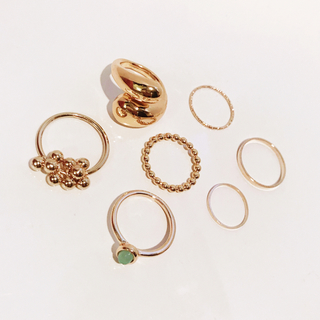 TODAYFUL - SET GOLD RING A