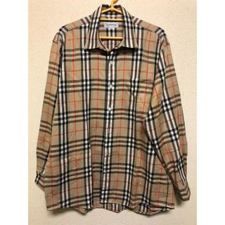 BURBERRY - ヴィンテージ レアバーバリーノバチェックシャツ