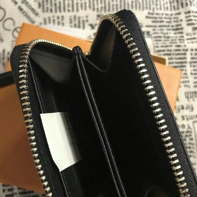 LOUIS VUITTON(ルイヴィトン)のルイ ヴィトン LV ジッピーコインパース 黒 小銭入れ  レディースのファッション小物(コインケース)の商品写真