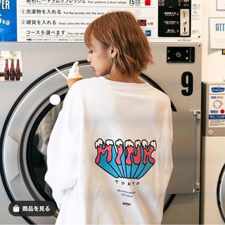 GYDA - MINK TOKYO スウェットプルオーバー