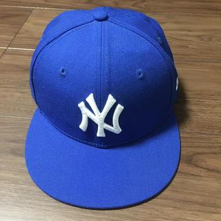 ニューエラー(NEW ERA)のNEW ERA ブルー 53センチ(帽子)