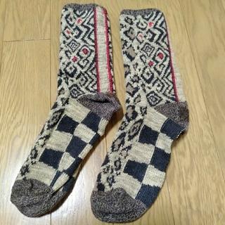 KAPITAL - キャピタル クバヒョウ柄ソックス 靴下