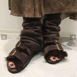 L'Appartement DEUXIEME CLASSE - 新品☆L'Appartement CAMINANDO FUR SANDAL 37