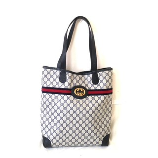 グッチ(Gucci)の「超美品」GUCCI/オールドグッチ/シェリーライントートバッグ正規品(トートバッグ)