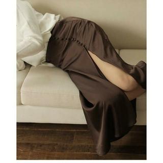 TODAYFUL - louren スリットロングスカート