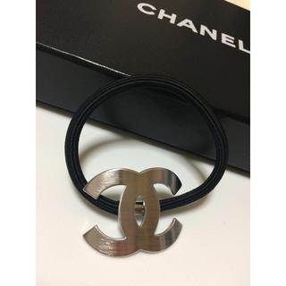 CHANEL - シャネル ヘアゴム/シルバー ノベルティ
