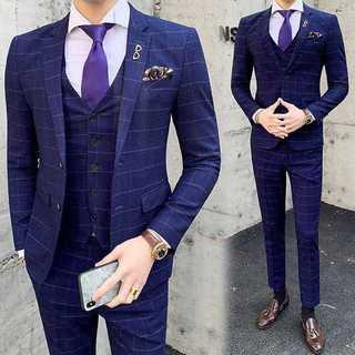メンズスーツセットアップ大人気エリート就活ビジネス結婚式スリム髪型師OT053(セットアップ)