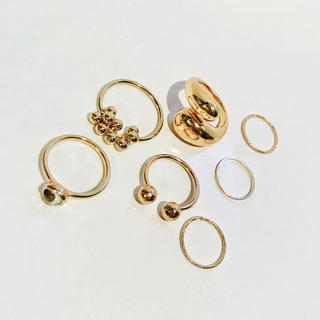 Ameri VINTAGE - SET GOLD RING D
