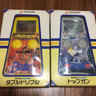KONAMI - コナミ KONAMI LCD GAME ダブルドリブル トップガン レトロゲーム