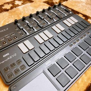 コルグ(KORG)の「KORG」nano2 シリーズ(MIDIコントローラー)