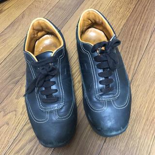 エルメス(Hermes)のスニーカー エルメス HERMES 靴 レディース 黒 24 24.5(スニーカー)