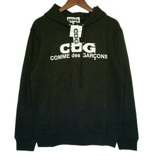 コムデギャルソン(COMME des GARCONS)のコム デ ギャルソン CDG セーター CDGロゴ Mサイズ(パーカー)