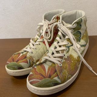 アディダス(adidas)のAdidas X Pharrell Williams Stan Smith 刺繍(スニーカー)