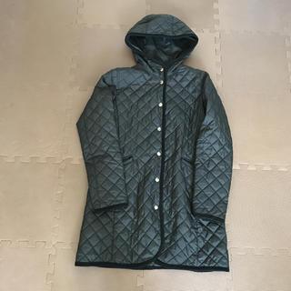 ムジルシリョウヒン(MUJI (無印良品))の無印良品 キルティングコート S(ロングコート)