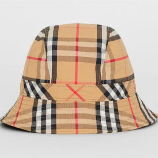 バーバリー(BURBERRY)のBURBERRY バーバリー vintage check bucket hat(ハット)