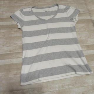 トミーヒルフィガー(TOMMY HILFIGER)のトミー 半袖Tシャツ ボーダー M(Tシャツ(半袖/袖なし))
