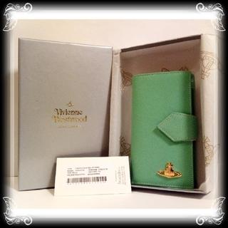 ヴィヴィアンウエストウッド(Vivienne Westwood)の①入手困難 ヴィヴィアン 新品 手帳型 財布 イタリア製 Vivienne (財布)