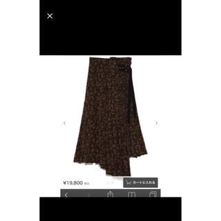 スナイデル(snidel)のスカート(ひざ丈スカート)