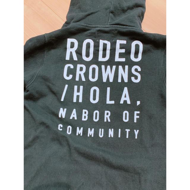 RODEO CROWNS WIDE BOWL(ロデオクラウンズワイドボウル)のロデオクラウンズ レディースのトップス(パーカー)の商品写真