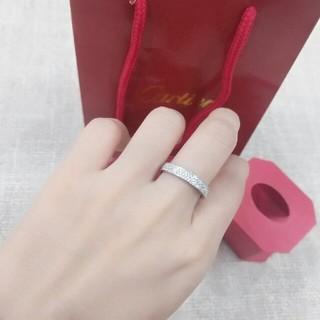 Cartier - Cartierカルティエ レディース リング 指輪 箱付き正規品 ダイヤモンド