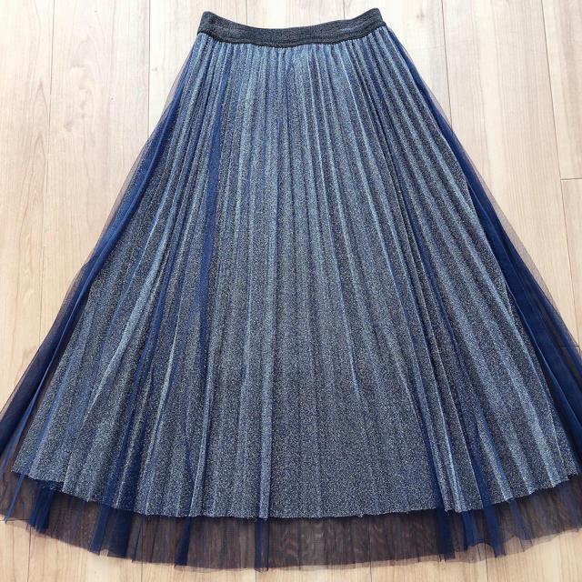 one*way(ワンウェイ)のプリーツスカート レディースのスカート(ロングスカート)の商品写真