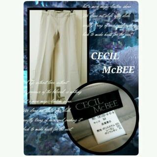 セシルマクビー(CECIL McBEE)の美品 セシルマクビー  綺麗めフレアラインのパンツ(カジュアルパンツ)