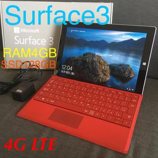 マイクロソフト(Microsoft)のSurface3  バッテリー劣化ゼロ 極上品♪(タブレット)