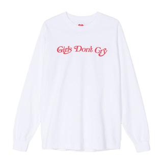 Girls don't cry  ロングTシャツ  Lサイズ(Tシャツ/カットソー(七分/長袖))