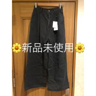 merlot - ♡merlot♡デニムワイドパンツ♡