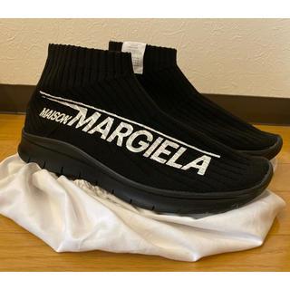 マルタンマルジェラ(Maison Martin Margiela)のmaison margiela ロゴソックススニーカー(スニーカー)