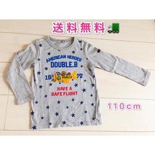 ミキハウス(mikihouse)のミキハウス  ダブルB長袖Tシャツ110cm 中古(Tシャツ/カットソー)