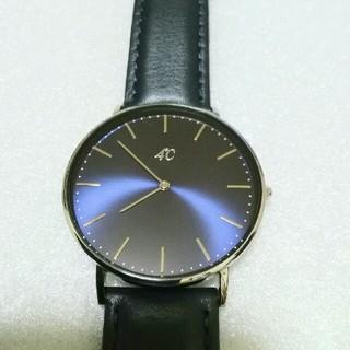 4℃ - 4℃腕時計クォーツ メンズ レディース 美品