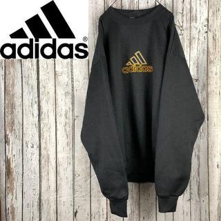 アディダス(adidas)のアディダス adidas スウェット オーバーサイズ 刺繍ロゴ(スウェット)