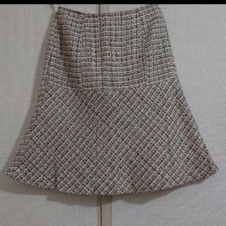 ツイード スカート(ひざ丈スカート)
