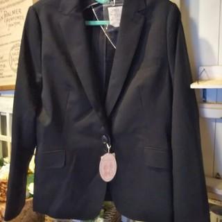 レディース 大きいサイズ スーツ上下セット 濃紺 ネイビー 紺 19号ストライプ(スーツ)