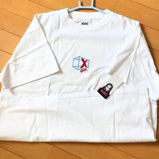 エックスガール(X-girl)のタグ付き 🍎 Tシャツ(Tシャツ(半袖/袖なし))